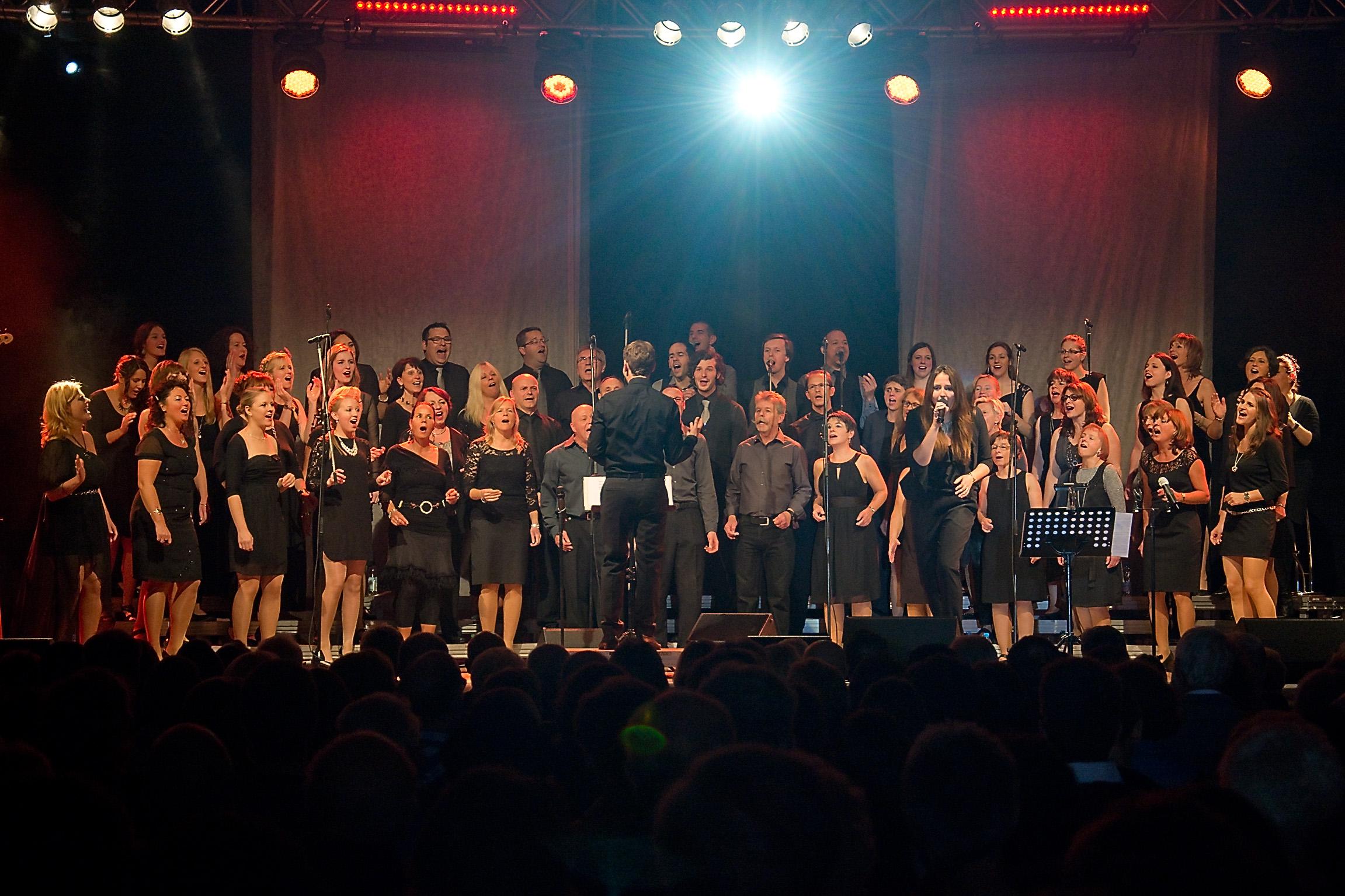 Jubiläumsveranstaltung mit dem Gospelchor Lingenfeld unter Leitung von Matthias Settelmeyer 20 Jahre Verein Kunst und Kultur in Annweiler e.V.
